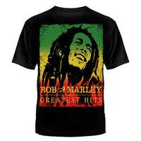"ФУТБОЛКА ""BOB MARLEY GREATEST HITS""  №1005"