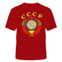 """ФУТБОЛКА """"СССР"""" Красная №216"""