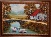 Картины янтарные